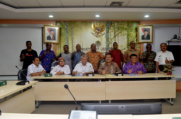 Merauke and Boven Digoel's Indigenous People Express Complaints Regarding Foreign NGOs to The Ministry of Environment and Forestry