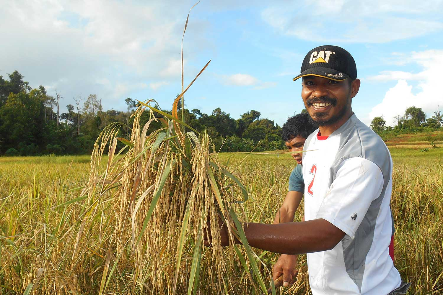 KORINDO Assists Farmers to Manage Farmland in Papua